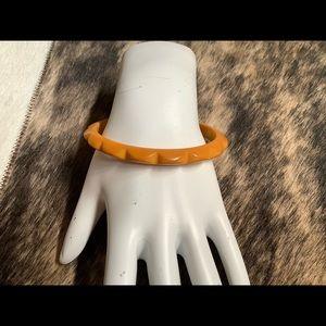 Rare Vintage'50's Carved Bakelite Bracelet